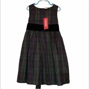 New Gymboree 5t plaid dress